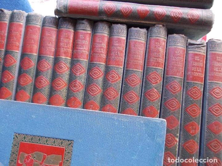 Enciclopedias antiguas: EL TESORO DE LA JUVENTUD FALTA EL 14 DE 17 EN TOTAL - Foto 2 - 175976323