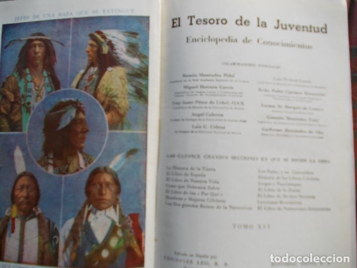 Enciclopedias antiguas: EL TESORO DE LA JUVENTUD FALTA EL 14 DE 17 EN TOTAL - Foto 3 - 175976323