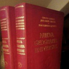 Enciclopedias antiguas: NUEVA GEOGRAFIA UNIVERSAL. ERNESTO GRANGER. DOS TOMOS. AÑO 1929.. Lote 176251275