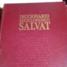 Enciclopedias antiguas: DICCIONARIO ENCICLOPEDICO SALVAT 13 TOMOS. Lote 177669700