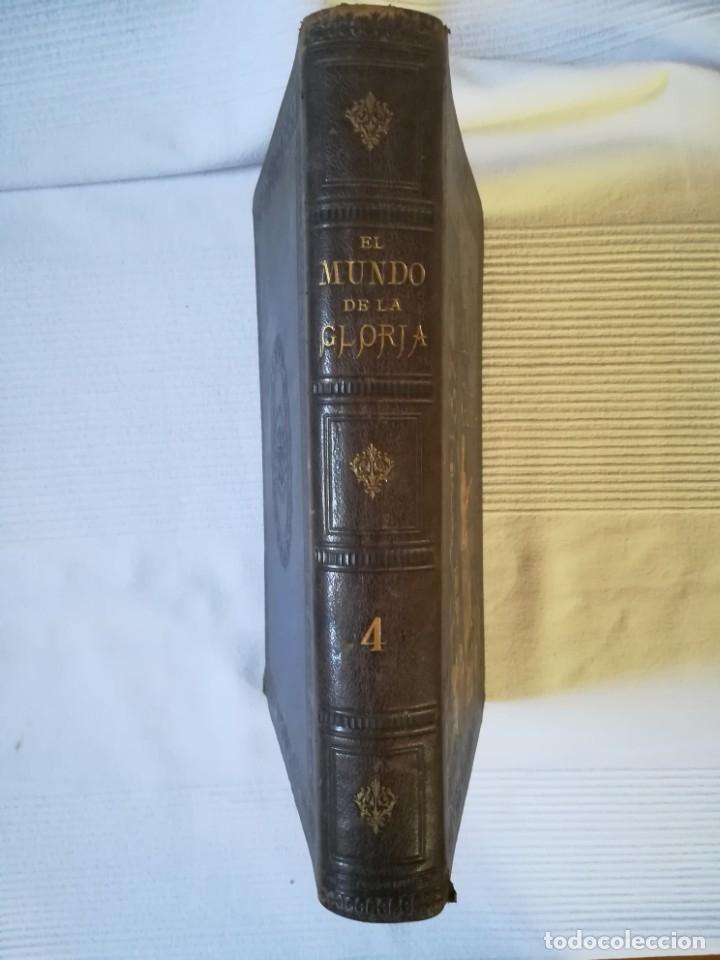 Enciclopedias antiguas: El mundo de la Gloria Tomo 4 (Siglo XIX) - Foto 2 - 177816873