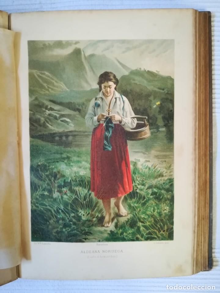 Enciclopedias antiguas: El mundo de la Gloria Tomo 4 (Siglo XIX) - Foto 8 - 177816873