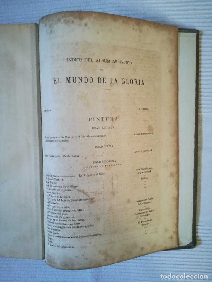 Enciclopedias antiguas: El mundo de la Gloria Tomo 4 (Siglo XIX) - Foto 11 - 177816873