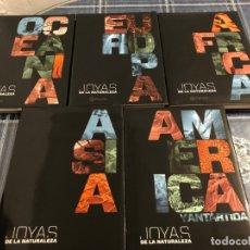 Enciclopedias antiguas: COLECCIÓN JOYAS DE LA NATURALEZA. Lote 177862575