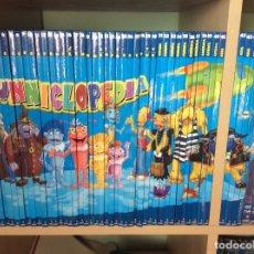 Enciclopedias antiguas: LUNNICLOPEDIA - ENCICLOPEDIA INFANTIL DE PLANETA DEAGOSTINI - (OBRA COMPLETA: 45 TOMOS + 45 DVD). Lote 177970239