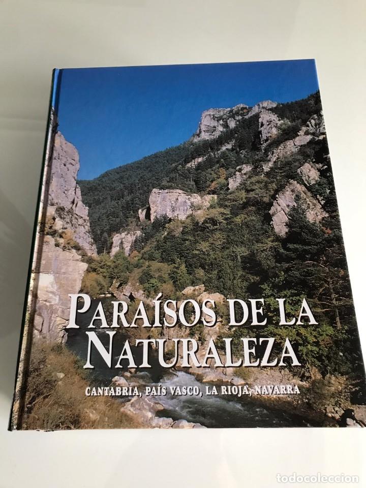 Enciclopedias antiguas: PARAISOS DE LA NATURALEZA (10 TOMOS) - Foto 5 - 179088205