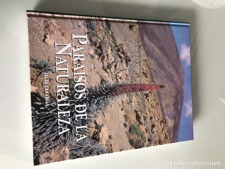 Enciclopedias antiguas: PARAISOS DE LA NATURALEZA (10 TOMOS) - Foto 6 - 179088205