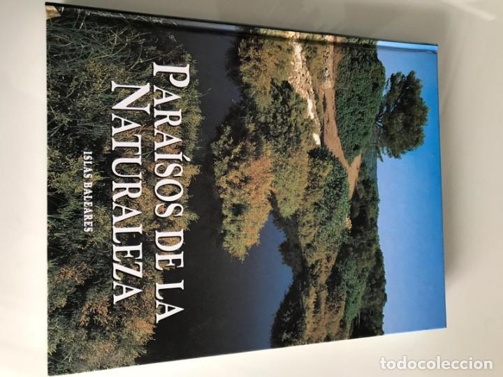 Enciclopedias antiguas: PARAISOS DE LA NATURALEZA (10 TOMOS) - Foto 7 - 179088205