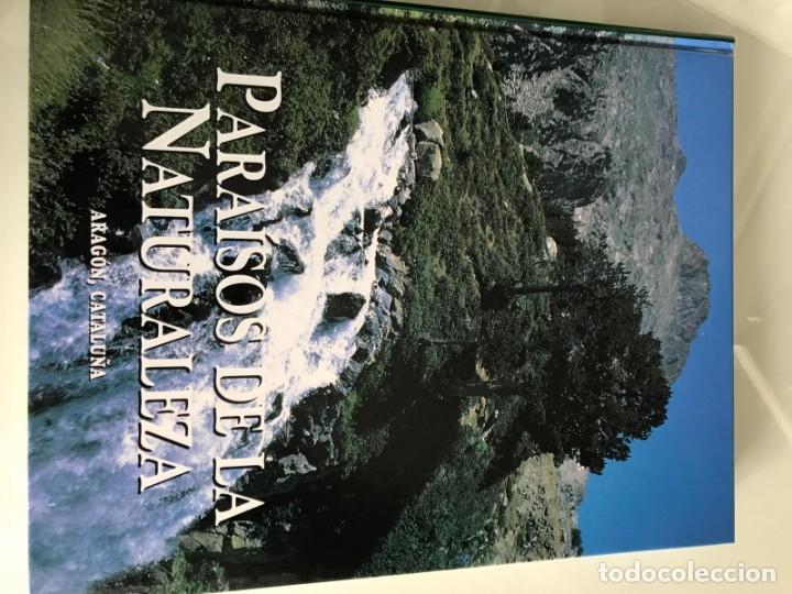 Enciclopedias antiguas: PARAISOS DE LA NATURALEZA (10 TOMOS) - Foto 10 - 179088205