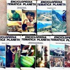 Enciclopedias antiguas: LOTE DE 5 LIBROS - ENCICLOPEDIA TEMATICA PLANETA - HISTORIA DEL ARTE - LITERATURA UNIVERSAL. Lote 179257940