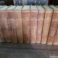 Enciclopedias antiguas: HISTORIA UNIVERSAL CÉSAR CANTÚ 1854 AL 1859. Lote 180337655