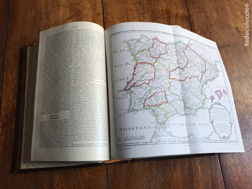 Enciclopedias antiguas: España. Enciclopedia. Calpe1925 - Foto 5 - 180485151