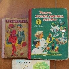 Enciclopedias antiguas: ENCICLOPEDIAS ESCOLARES (3). Lote 177615442