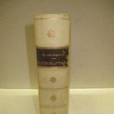 Enciclopedias antiguas: ELECTA PLAUTINA: IN QUIBUS VELUT THESAURO QUODAM ANTIQUITATIS...PAREI, JOH. PHILIPPI. 1617.. Lote 182401717