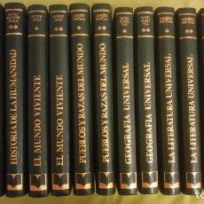 Enciclopedias antiguas: UNIVERSAL CONSULTOR DEL ESTUDIANTE 12 TOMOS 1977. Lote 182626073