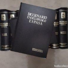 Libri antichi: DICCIONARIO ENCICLOPEDICO ESPASA CALPE, S.A. . AÑO 1985. NOVENA EDICIÓN. 12 TOMOS + APENDICE.. Lote 183215642