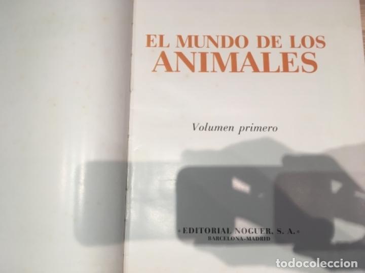 Enciclopedias antiguas: El mundo de los animales. Noguer Rizzoli Larousse - Foto 3 - 183406447