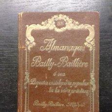 Enciclopedias antiguas: ALMANAQUE BAILLY-BAILLIERE, PEQUEÑA ENCICLOPEDIA POPULAR DE LA VIDA PRACTICA, 1936. Lote 183465841