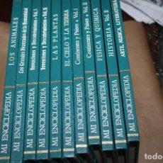 Enciclopedias antiguas: MI ENCICLOPEDIA , EDICIONES GAISA, AÑOS 60, FALTA UN TOMO. Lote 183696492