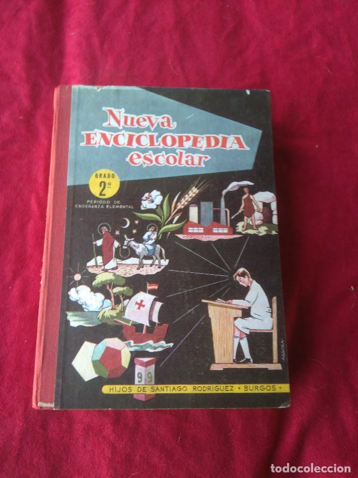 LIBRO NUEVA ENCICLOPEDIA ESCOLAR AÑOS 60 (Libros Antiguos, Raros y Curiosos - Enciclopedias)