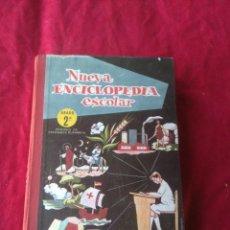 Enciclopedias antiguas: LIBRO NUEVA ENCICLOPEDIA ESCOLAR AÑOS 60. Lote 186414451
