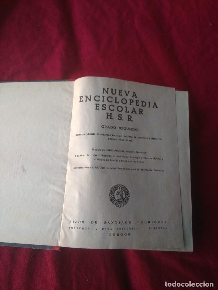 Enciclopedias antiguas: LIBRO NUEVA ENCICLOPEDIA ESCOLAR AÑOS 60 - Foto 4 - 186414451