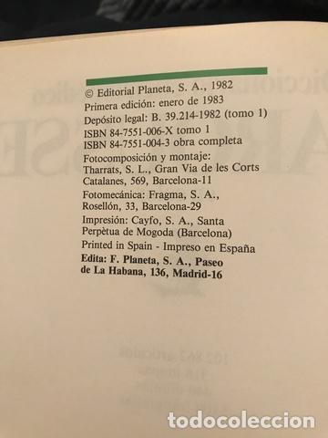 Enciclopedias antiguas: 1983 ENCICLOPEDIA DICCIONARIO LAROUSSE - Foto 3 - 189916093