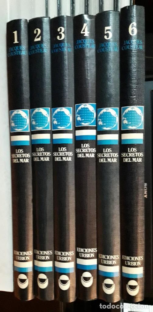 JACQUES COUSTEAU - LOS SECRETOS DEL MAR - ED. URBION 1.983 - 12 TOMOS (Libros Antiguos, Raros y Curiosos - Enciclopedias)