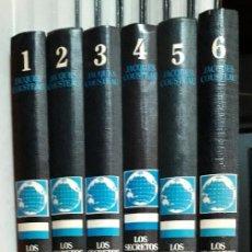 Enciclopedias antiguas: JACQUES COUSTEAU - LOS SECRETOS DEL MAR - ED. URBION 1.983 - 12 TOMOS. Lote 190195571