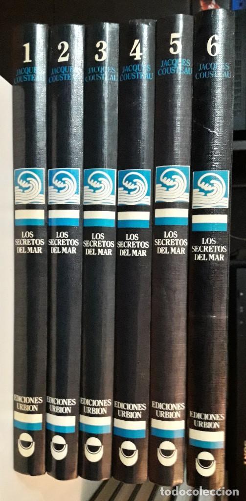 Enciclopedias antiguas: JACQUES COUSTEAU - LOS SECRETOS DEL MAR - ED. URBION 1.983 - 12 TOMOS - Foto 2 - 190195571