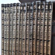 Enciclopedias antiguas: GRAN HISTORIA ILUSTRADA DEL CINE - ED. SARPE 1.984 - 15 TOMOS. Lote 190195682