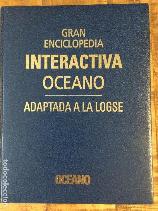 Enciclopedias antiguas: LOTE DE 8 ENCICLOPEDIAS -7 GRAN ENCICLOPEDIA INTERACTIVA OCEANO - 1 HISTORIA NATURAL VERTEBRADOS - Foto 2 - 190208486