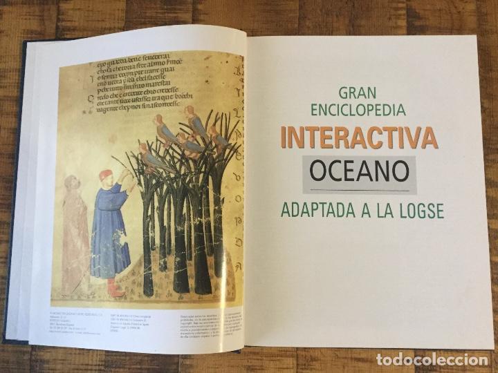 Enciclopedias antiguas: LOTE DE 8 ENCICLOPEDIAS -7 GRAN ENCICLOPEDIA INTERACTIVA OCEANO - 1 HISTORIA NATURAL VERTEBRADOS - Foto 4 - 190208486