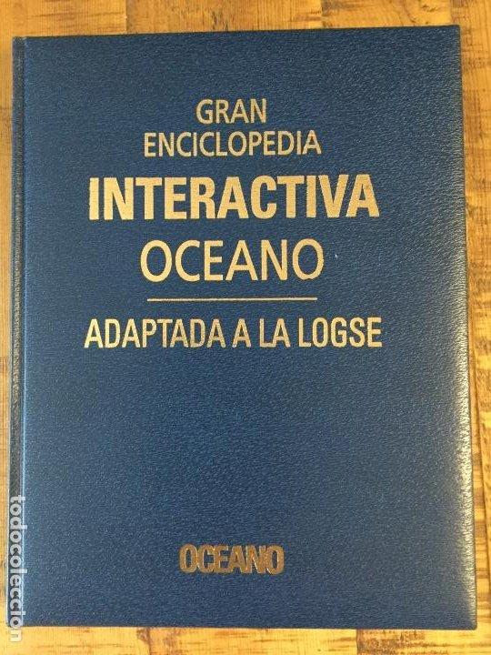 Enciclopedias antiguas: LOTE DE 8 ENCICLOPEDIAS -7 GRAN ENCICLOPEDIA INTERACTIVA OCEANO - 1 HISTORIA NATURAL VERTEBRADOS - Foto 5 - 190208486