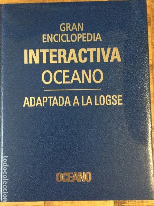 Enciclopedias antiguas: LOTE DE 8 ENCICLOPEDIAS -7 GRAN ENCICLOPEDIA INTERACTIVA OCEANO - 1 HISTORIA NATURAL VERTEBRADOS - Foto 8 - 190208486