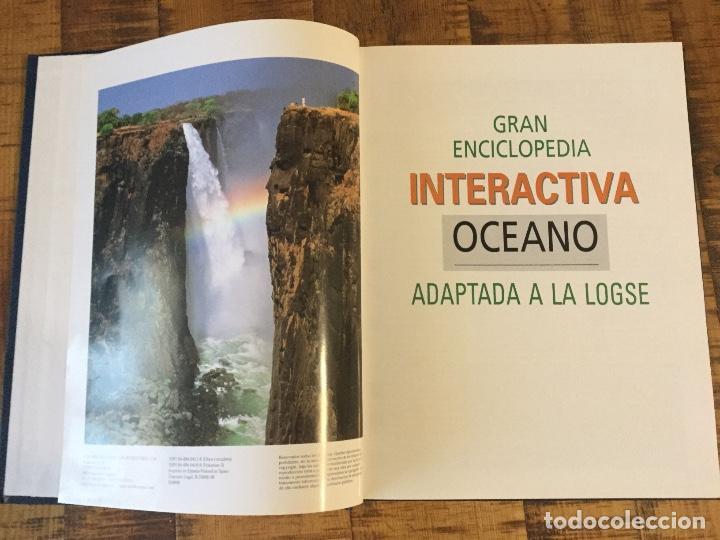 Enciclopedias antiguas: LOTE DE 8 ENCICLOPEDIAS -7 GRAN ENCICLOPEDIA INTERACTIVA OCEANO - 1 HISTORIA NATURAL VERTEBRADOS - Foto 10 - 190208486