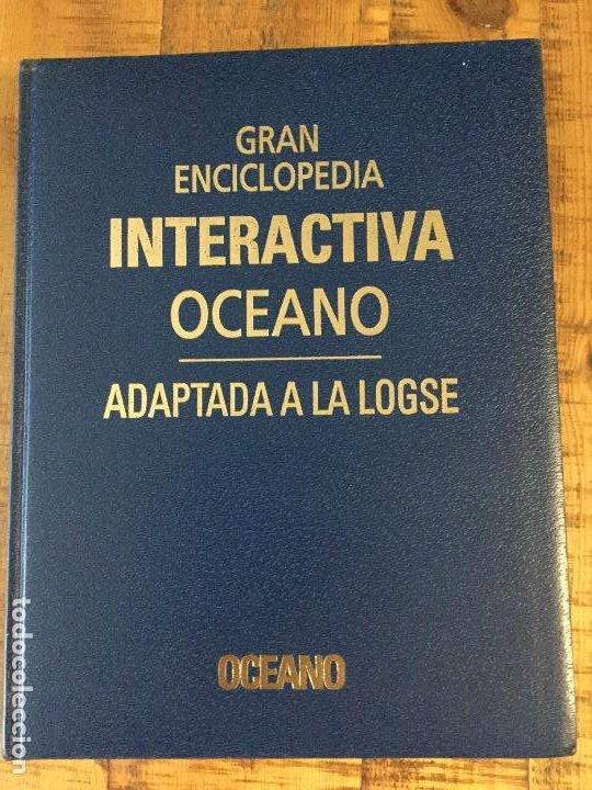 Enciclopedias antiguas: LOTE DE 8 ENCICLOPEDIAS -7 GRAN ENCICLOPEDIA INTERACTIVA OCEANO - 1 HISTORIA NATURAL VERTEBRADOS - Foto 11 - 190208486