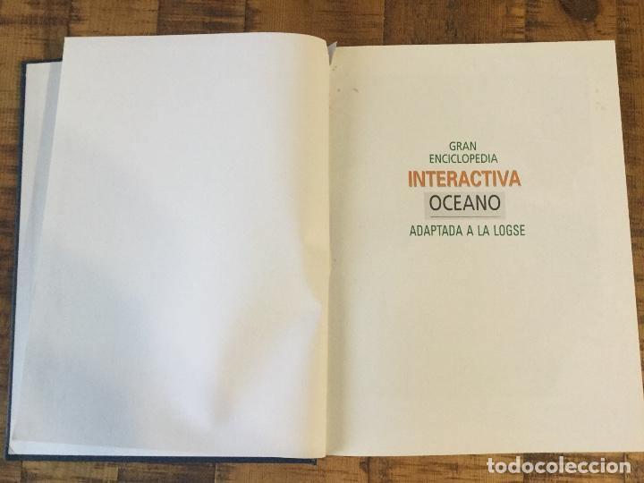 Enciclopedias antiguas: LOTE DE 8 ENCICLOPEDIAS -7 GRAN ENCICLOPEDIA INTERACTIVA OCEANO - 1 HISTORIA NATURAL VERTEBRADOS - Foto 12 - 190208486