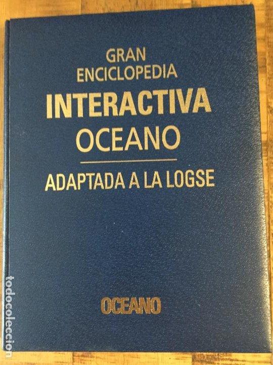 Enciclopedias antiguas: LOTE DE 8 ENCICLOPEDIAS -7 GRAN ENCICLOPEDIA INTERACTIVA OCEANO - 1 HISTORIA NATURAL VERTEBRADOS - Foto 14 - 190208486