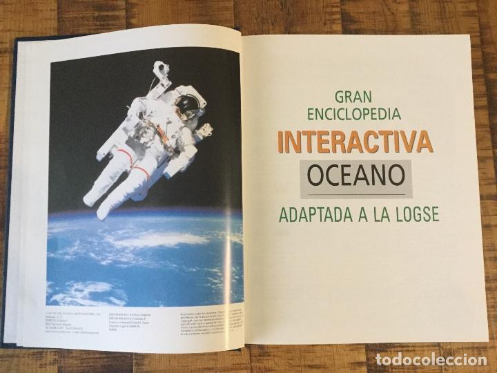 Enciclopedias antiguas: LOTE DE 8 ENCICLOPEDIAS -7 GRAN ENCICLOPEDIA INTERACTIVA OCEANO - 1 HISTORIA NATURAL VERTEBRADOS - Foto 16 - 190208486