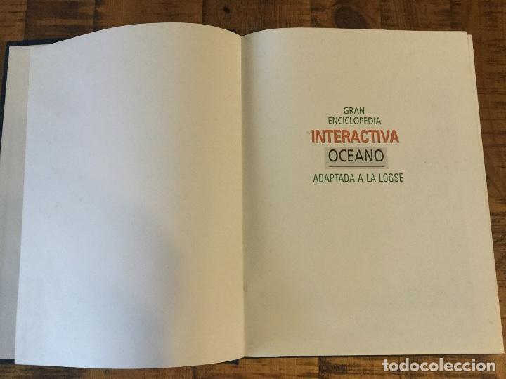 Enciclopedias antiguas: LOTE DE 8 ENCICLOPEDIAS -7 GRAN ENCICLOPEDIA INTERACTIVA OCEANO - 1 HISTORIA NATURAL VERTEBRADOS - Foto 18 - 190208486
