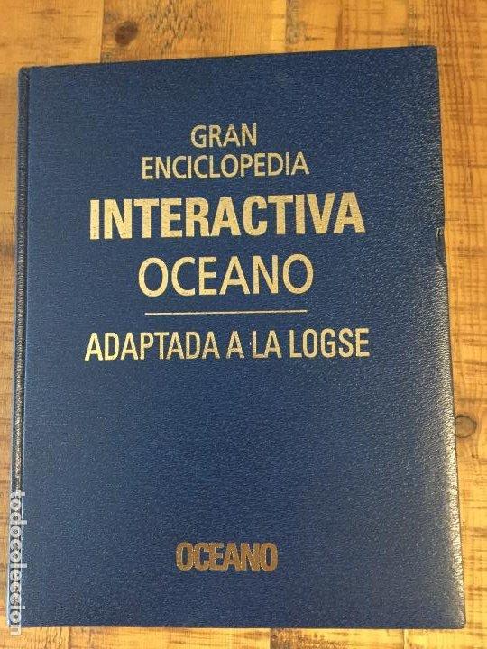 Enciclopedias antiguas: LOTE DE 8 ENCICLOPEDIAS -7 GRAN ENCICLOPEDIA INTERACTIVA OCEANO - 1 HISTORIA NATURAL VERTEBRADOS - Foto 20 - 190208486