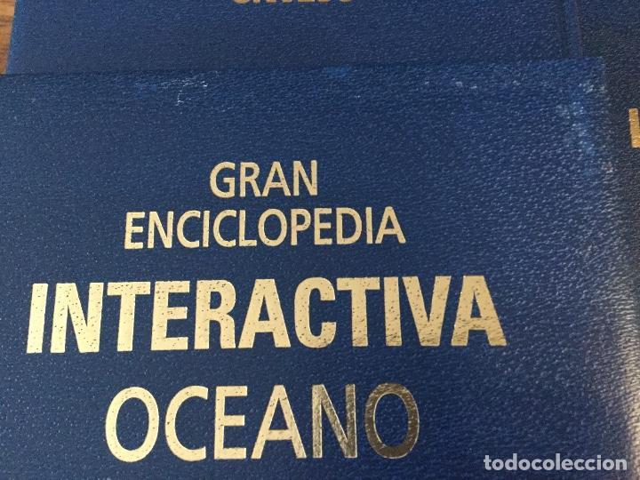 Enciclopedias antiguas: LOTE DE 8 ENCICLOPEDIAS -7 GRAN ENCICLOPEDIA INTERACTIVA OCEANO - 1 HISTORIA NATURAL VERTEBRADOS - Foto 32 - 190208486