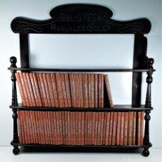 Enciclopedias antiguas: BIBLIOTECA MANUALES SOLER. 68 TOMOS. VARIOS AUTORES. BARCELONA.. Lote 190800726