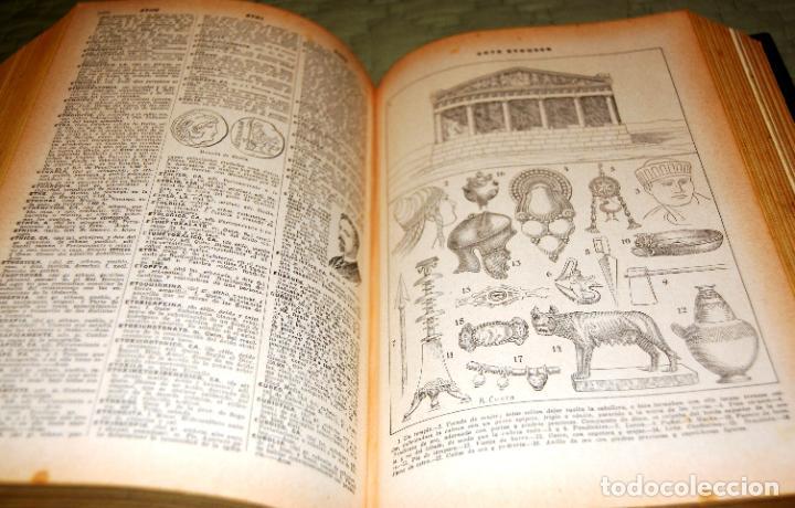 Enciclopedias antiguas: ENCICLOPEDIA SOPENA, NUEVO DICCIONARIO ILUSTRADO DE LA LENGUA ESPAÑOLA. 2 TOMOS, AÑO 1933. - Foto 7 - 191287471