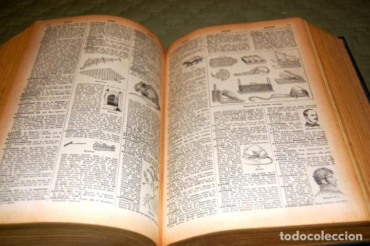 Enciclopedias antiguas: ENCICLOPEDIA SOPENA, NUEVO DICCIONARIO ILUSTRADO DE LA LENGUA ESPAÑOLA. 2 TOMOS, AÑO 1933. - Foto 16 - 191287471