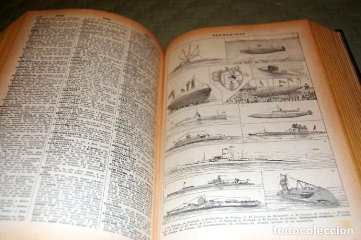 Enciclopedias antiguas: ENCICLOPEDIA SOPENA, NUEVO DICCIONARIO ILUSTRADO DE LA LENGUA ESPAÑOLA. 2 TOMOS, AÑO 1933. - Foto 18 - 191287471