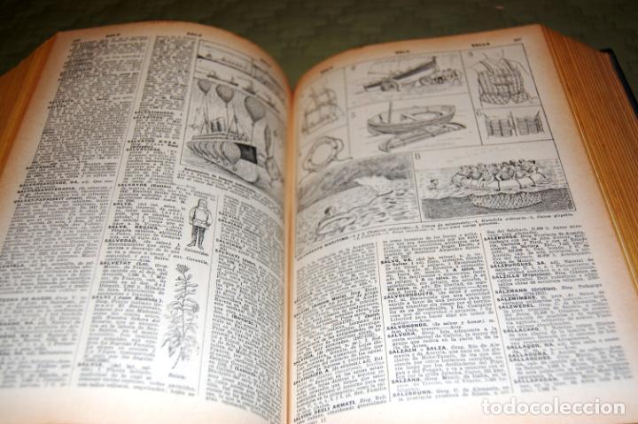 Enciclopedias antiguas: ENCICLOPEDIA SOPENA, NUEVO DICCIONARIO ILUSTRADO DE LA LENGUA ESPAÑOLA. 2 TOMOS, AÑO 1933. - Foto 19 - 191287471