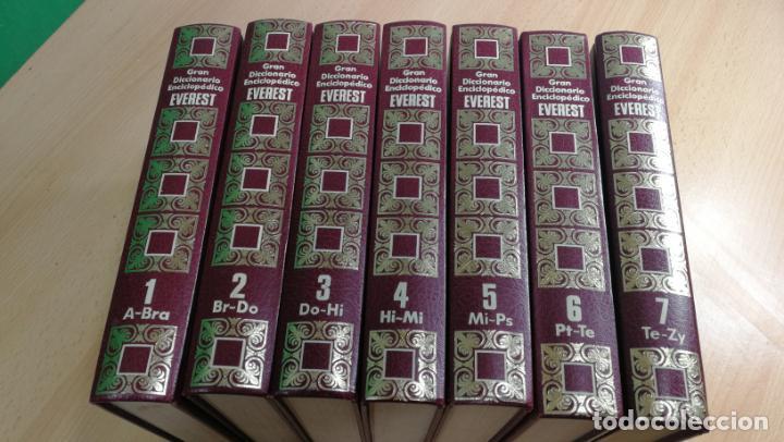 Enciclopedias antiguas: GRAN DICCIONARIO ENCICLOPEDICO EVEREST - Foto 4 - 191417650