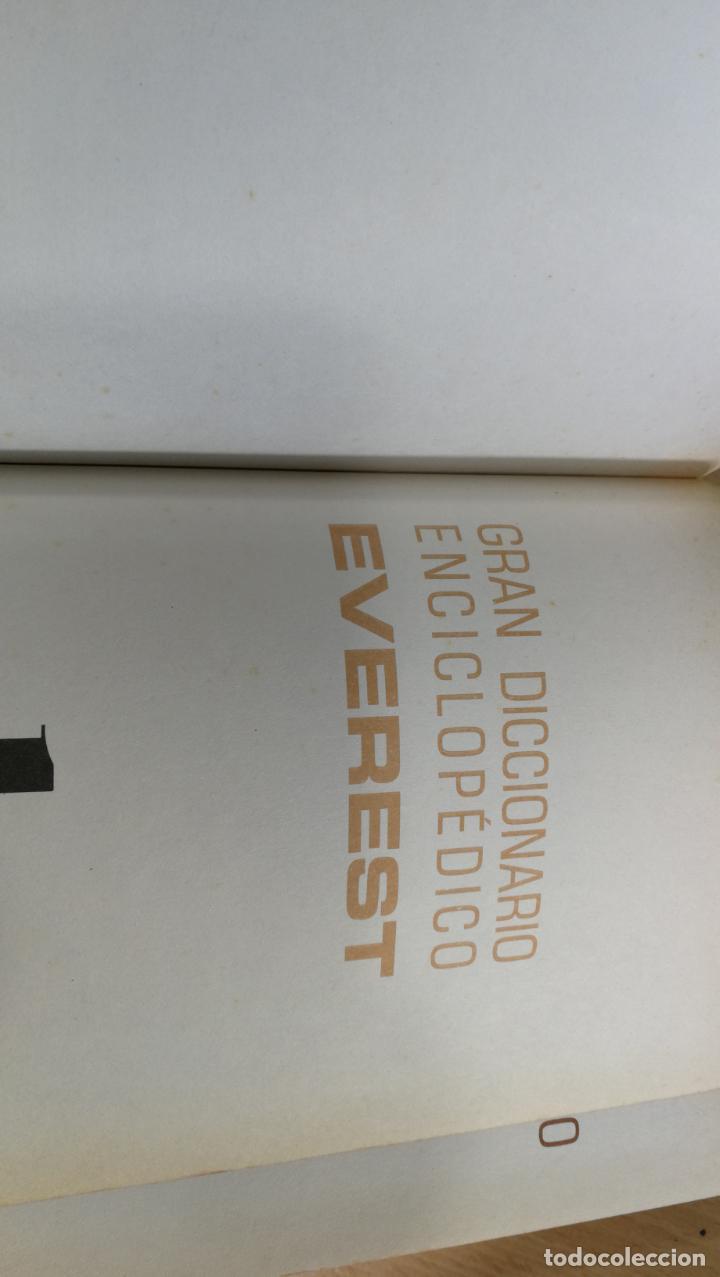 Enciclopedias antiguas: GRAN DICCIONARIO ENCICLOPEDICO EVEREST - Foto 18 - 191417650